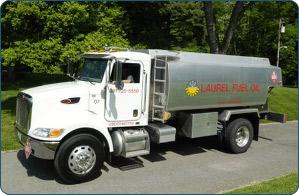 Laurel Fuel Oil truck